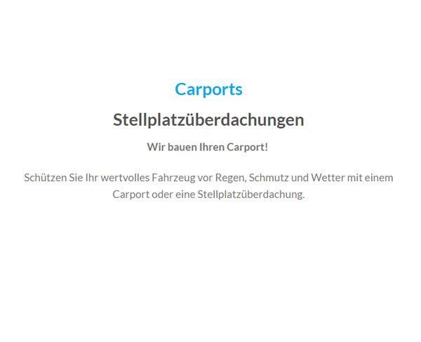 Carports bei  Baden-Baden