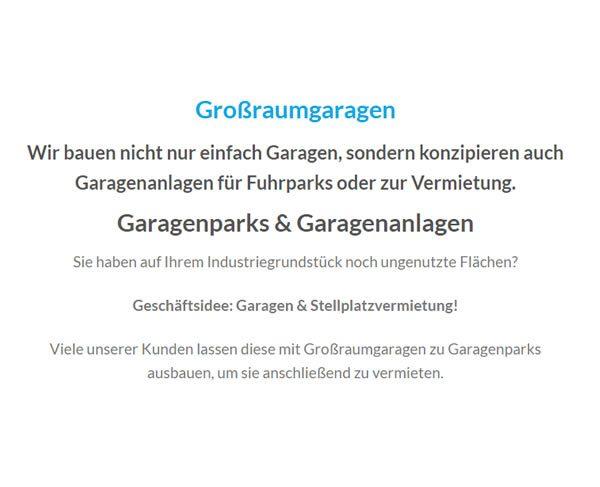 Grossraumgaragen für 76530 Baden-Baden, Gaggenau, Bischweier, Weisenbach, Sinzheim, Gernsbach, Kuppenheim und Bühlertal, Iffezheim, Hügelsheim